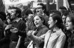 Betogende jongeren © AFP